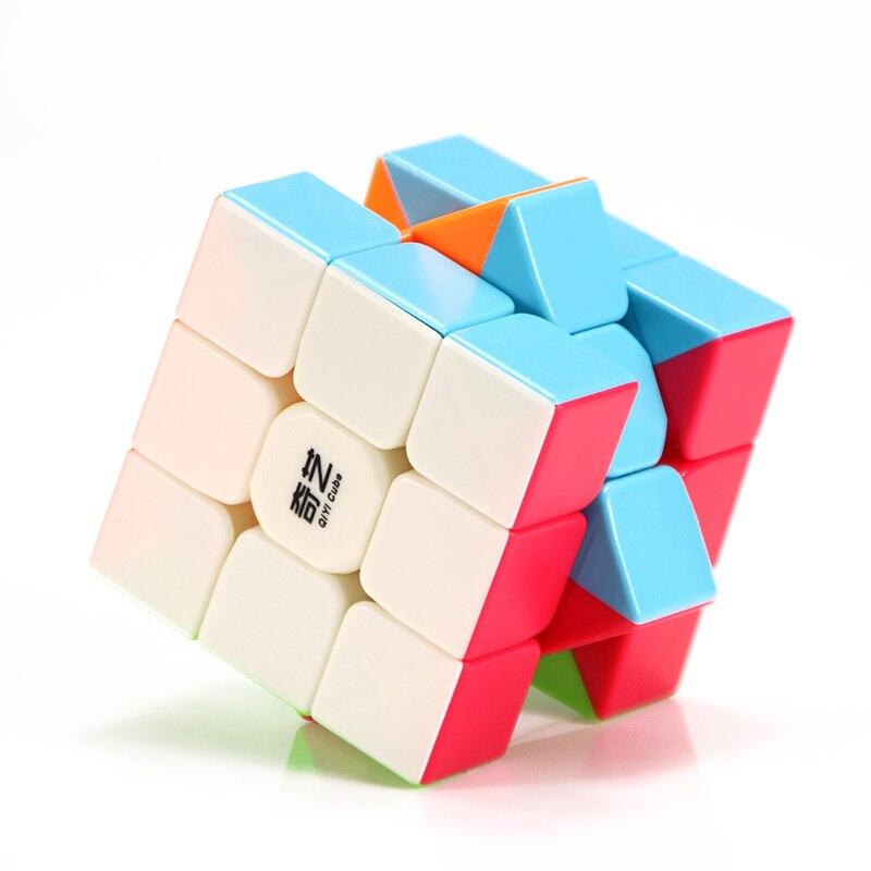 QiYi Warrior W 3x3x3 профессиональный магический куб, соревнование, скоростные Кубики-головоломки, игрушки для детей, кубики для игры, 6 цветов