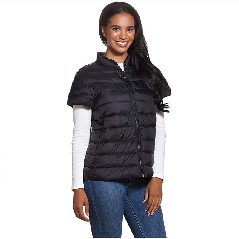 Women outdoor Spring Autumn Stylish 2021 Vest women Warm Sleeveless Jacket Men Winter Waistcoat Mens Casual Coats