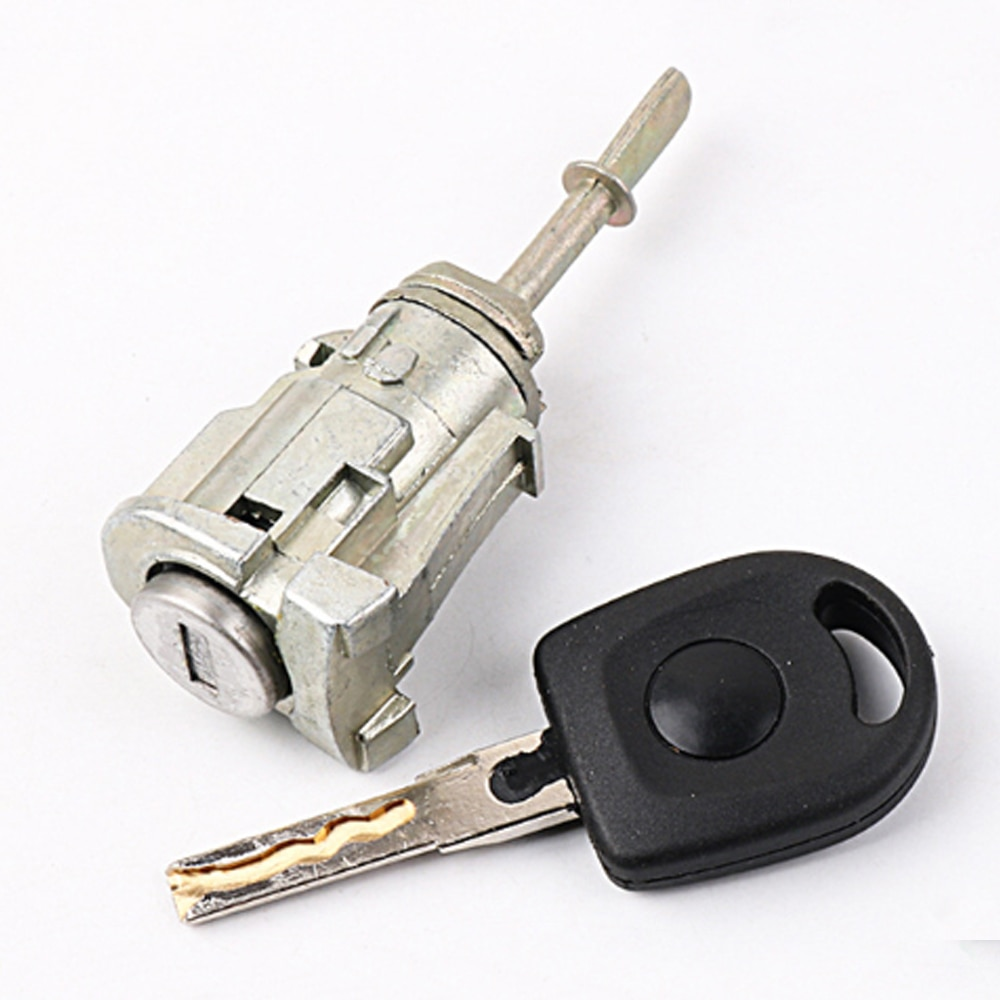 Cilindro de bloqueo de encendido de coche para Volkswagen Jetta 13, nuevo cilindro de cerradura de puerta izquierda Santana, accesorios de coche, herramienta de cerrajero