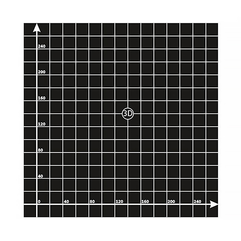 3d impressão construir simples cama quente portátil preto superfície plataforma adesivo parte impressora folha reutilizável durável