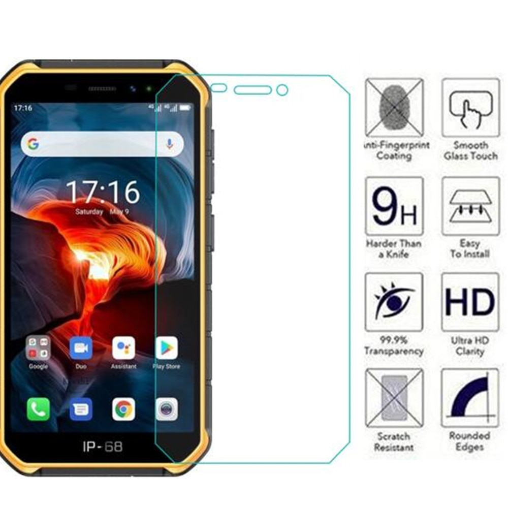 2.5D de vidrio templado 9H para Ulefone armadura X7 Pro Protector de pantalla película protectora endurecida para Ulefone armadura X7 de cristal de teléfono