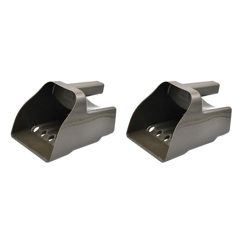 2 uds. Pala de arena para Detector de metales, pala detectora de metales, pala para ARENA, cuchara, Detector de metales