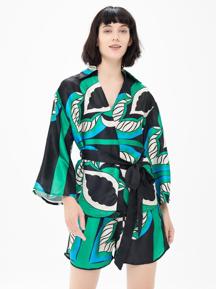 Европейский и американский стиль Внешняя торговля женский новый стиль 2021 галстук-бабочка свободный галстук рубашка шорты брюки костюм