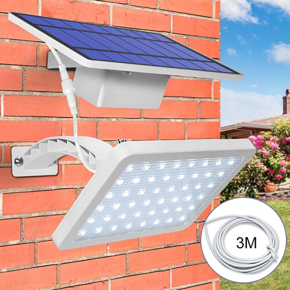 48 Leds Solar Light Super Bright Adjustable Lighting Angle Outdoor Solar Garden Lamp Waterproof Lighting For Wall Yard Street