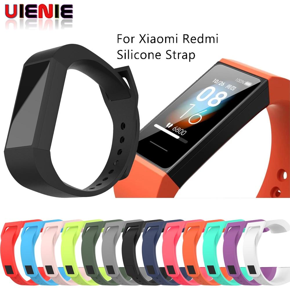 Correa de silicona para Xiaomi Redmi Band 4, repuesto de pulsera inteligente deportiva para reloj Xiaomi Redmi Band 4