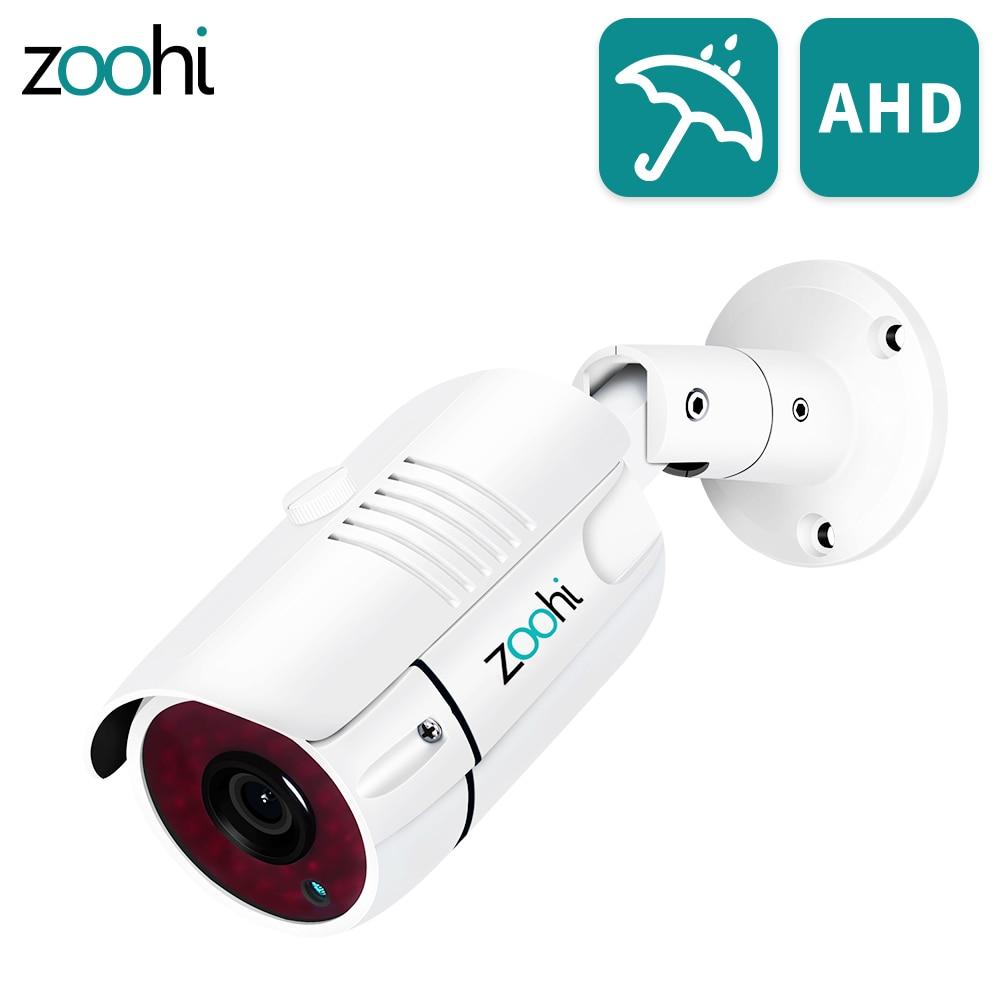 كاميرا مراقبة Zoohi 1080P, كاميرا مراقبة تناظرية عالية الدقة تعمل بالأشعة تحت الحمراء ، كاميرا دائرة تليفزيونية مغلقة مقاومة للماء