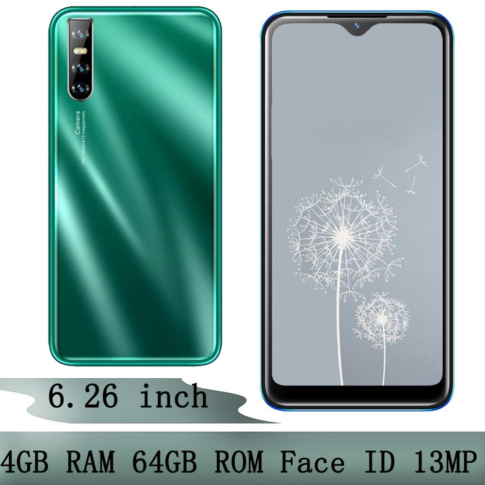 Teléfono Móvil S5 Pro, pantalla gota de agua de 6,26 pulgadas, desbloqueado...