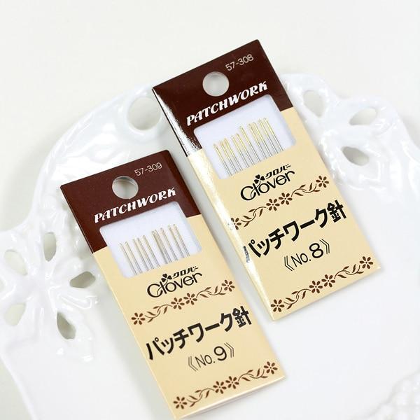 Herramienta de trébol de cola japonés, costura a mano, aguja de costura artesanal, juego de aguja 57-308/309