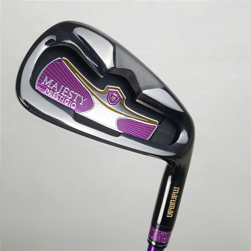 womens golf Maruman Majesty Prestigio 9 golf irons set 5-9.PW.AW.SW set steel shaft graphite shaft or steel