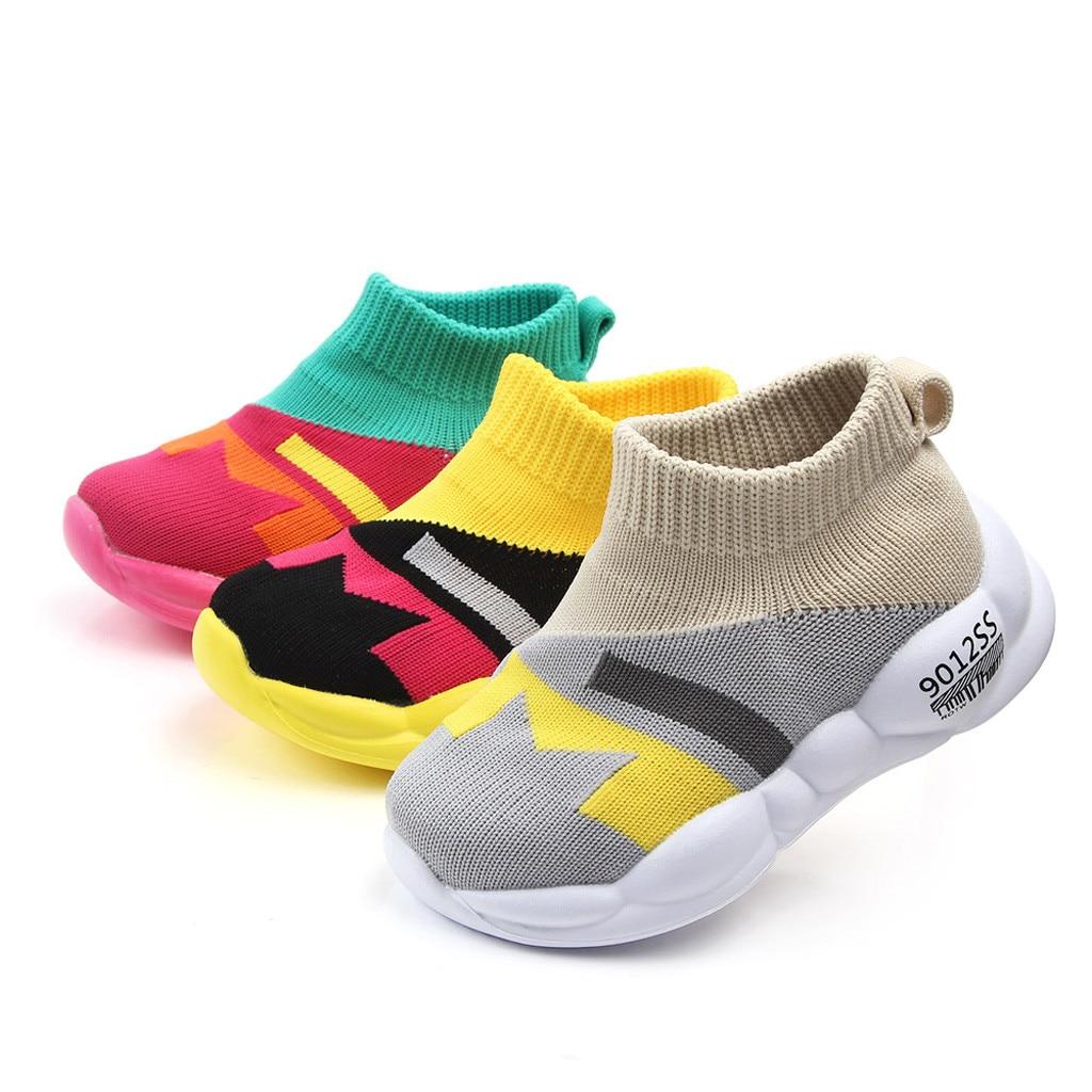 ARLONEET nueva moda Otoño net transpirable ocio deportes correr zapatos para niñas zapatos para niños marca niños caída de zapatos 11