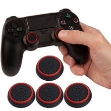 4 قطعة 2 قطعة سيليكون التناظرية متحكم الأصابع Xbox One غطاء Grips ل PS4 برو سليم ل PS3 تحكم Thumbstick قبعات ل Xbox 360 واحد المقود!