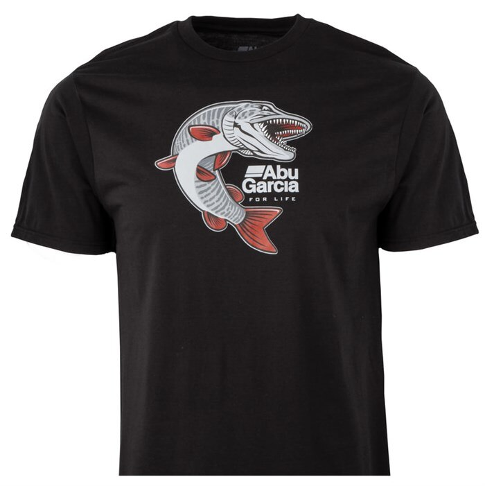 Abu Garcia-Camiseta de manga corta para hombre, Camiseta de algodón de calidad,...