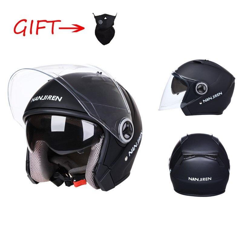 Casco de protección con Luz Led Para Adulto Casco de motocicleta, todoterreno,...