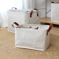 foldable storage box storage baskets laundry basket bin clothes toy sundries storage basket underwear book toy organizer