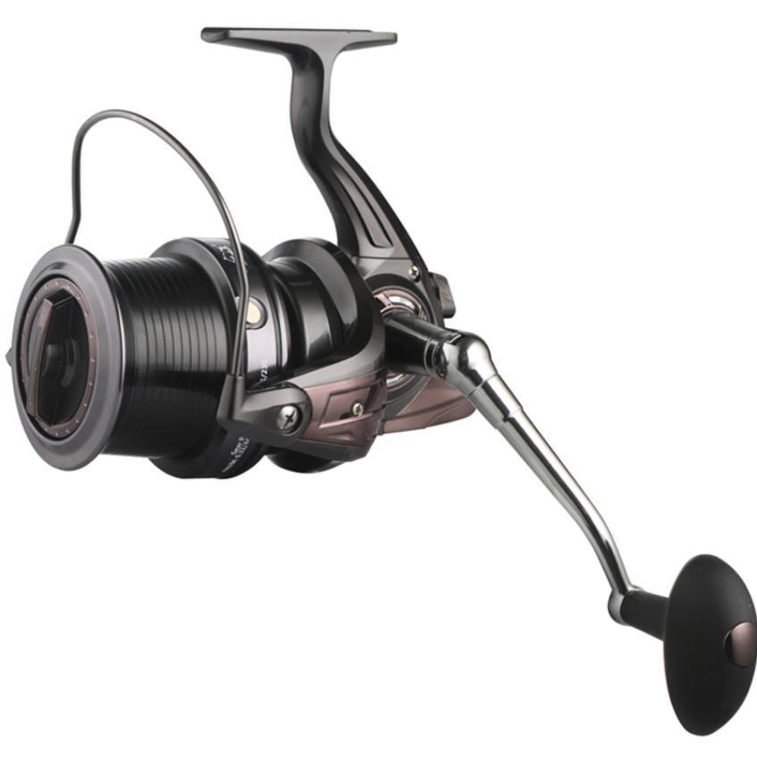 7000 9000 10000 13+1BB Big long shot Fishing Reels Feeder Metal Fishing Reel CNC rocker Carp spinning wheel Molinete Pesca HQ