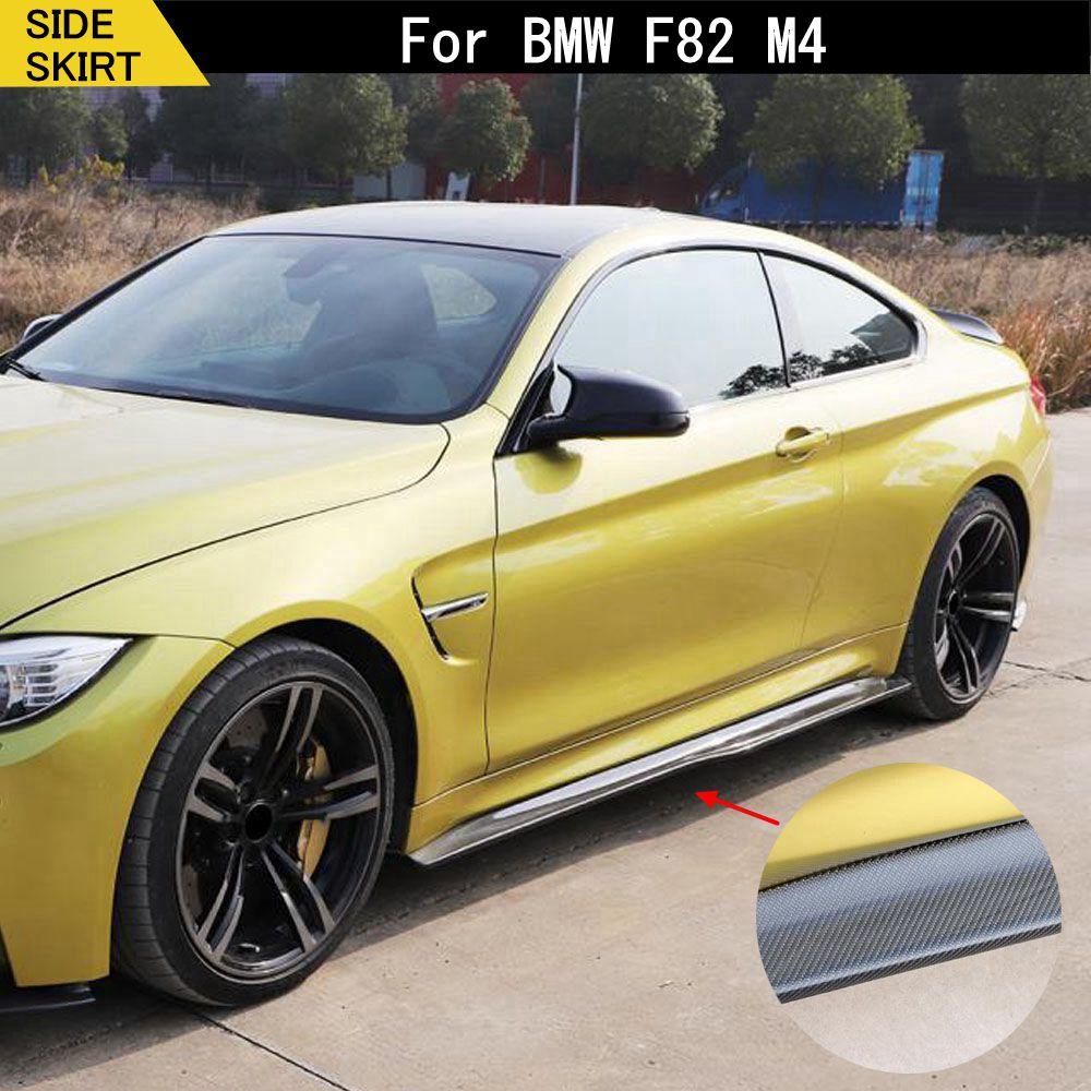 Боковая юбка F82 F83 из углеродного волокна, защитный бампер для BMW F82 F83 M4 2014-2018