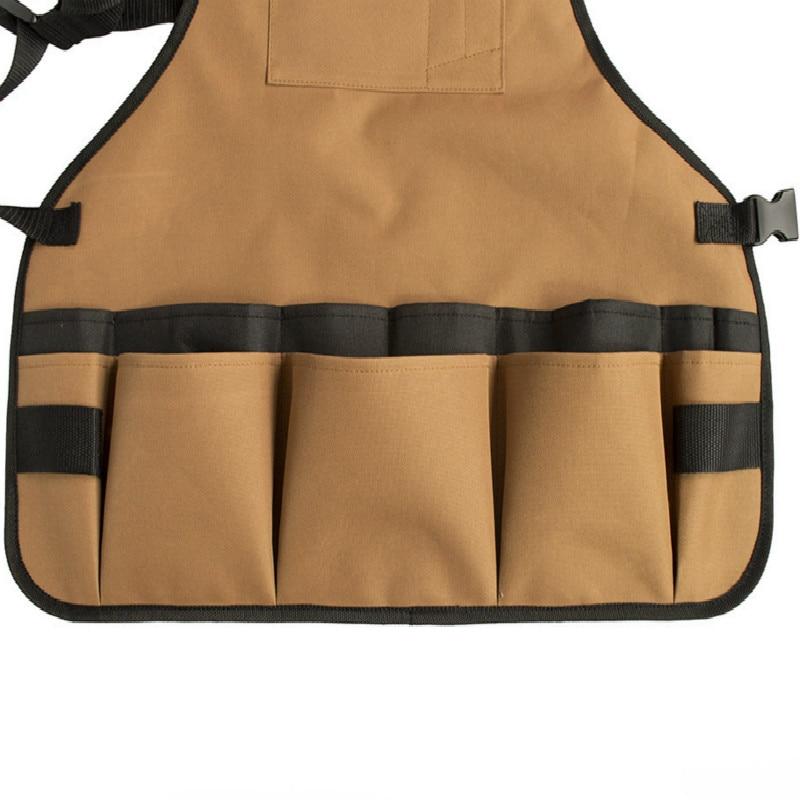 1 Pcs Multifunctional garden tools apron Adjustable Belt Professional Waterproof Oxford Cloth Heavy Duty Work Garden Aprons enlarge