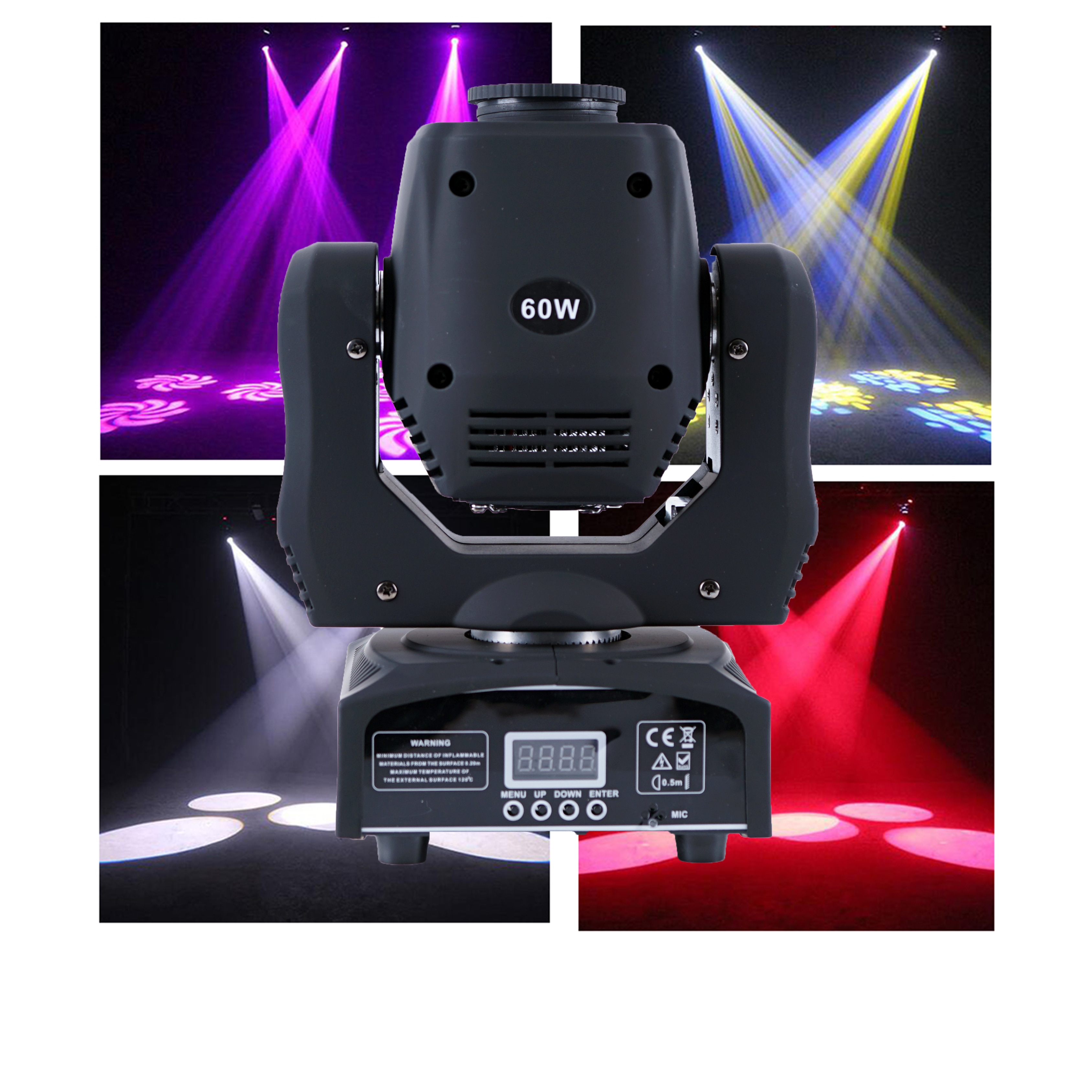 Ya Yao Stage Lights LED 60W Pattern Shake Head Lights Beam Lights New Bar KTV Club Shake Head Lights head head supershape i rally sw mfpr prd 12 gw brake 85 [f] 18 19 размер 177