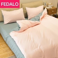 net celebrity nordic style four piece wash quilt cover sheet student dormitory three piece bedding