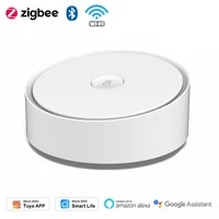 Tuya Zigbee     passerelle de Communication multi-protocole  wi-fi  Bluetooth  3 modes  compatible avec Smart Life APP  telecommande  Alexa Google Home