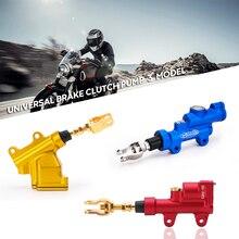 Pompe de frein hydraulique pour moto   Accessoires universels, frein à pied arrière, cylindre outil de moto, pompe de frein hydraulique pour moto Sport, saleté Bike Pit Qua ATV