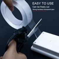 nano doppelseitiges klebeband nanopaste 3m20mm nahtlos nagelfreies netz roter magischer kleber starke paste transparent
