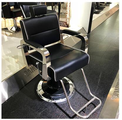 الراقية الجمال كرسي حلّاق للرجال صالون الشعر الخاصة رفع حلاقة يمكن وضع أسفل الصباغة والكي كرسي المصنع