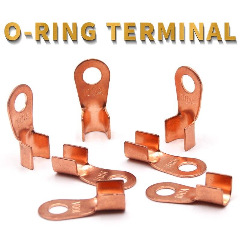 Terminal serie OT/10/20/30/40/50/60/100/150/200A empalme diámetro de alambre de cobre O forma Circular...