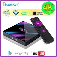 Meilleure vente H96 MAX Google Play Smart TV Box Android 9.0 RK3318 Rockchip Wifi4K H.265 lecteur multimédia Smart Tv Android Box