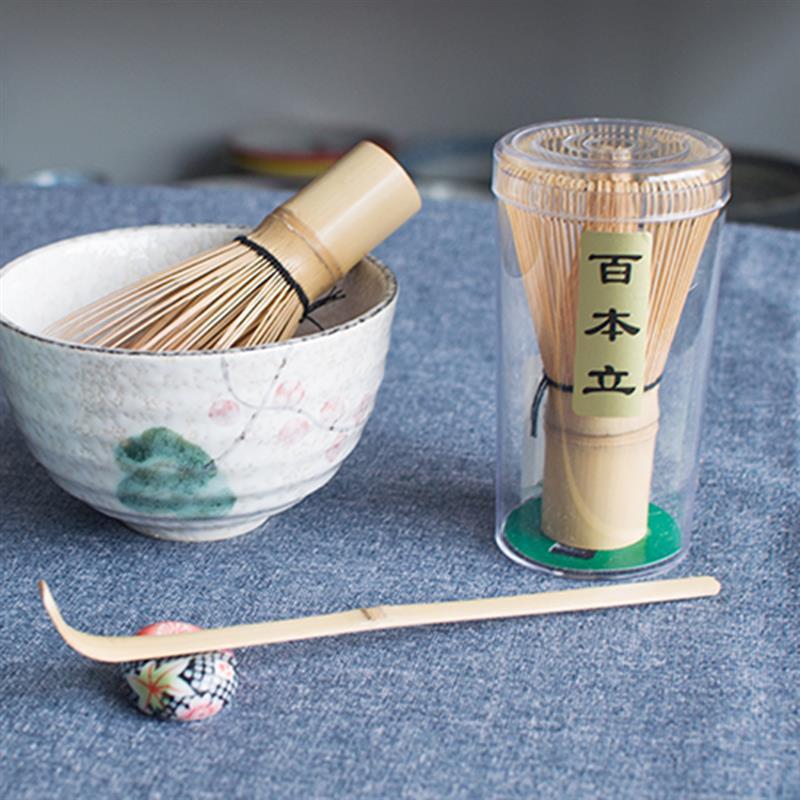 kataoka matcha green tea milk 705oz Bamboo Matcha Whisk Japanese Brush Professional Green Tea Powder Whisk Chasen Tea Ceremony Brush Tool Grinder