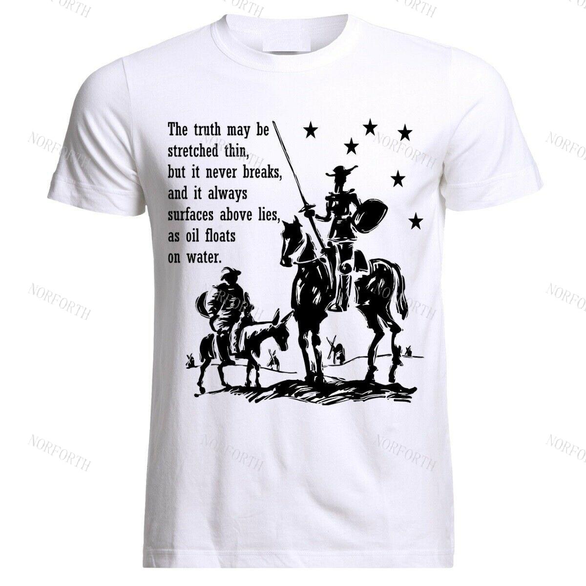 Don Quijote Sancho Panza citas Picasso de Miguel de Cervantes camiseta
