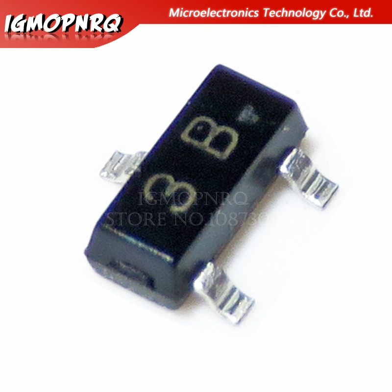 100 sztuk BC856B BC856 SOT-23 3B tranzystor nowy oryginalny