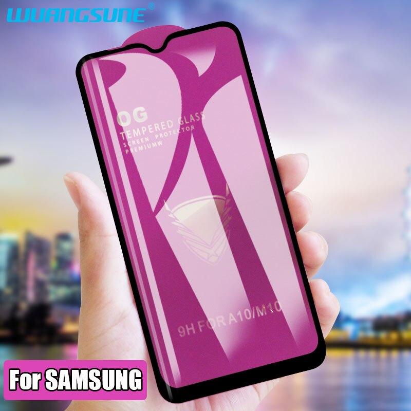 Protector de pantalla de cristal templado para Samsung Galaxy M10 M20 M30 A30 A40 A50 A60 A70 A71 A80A90