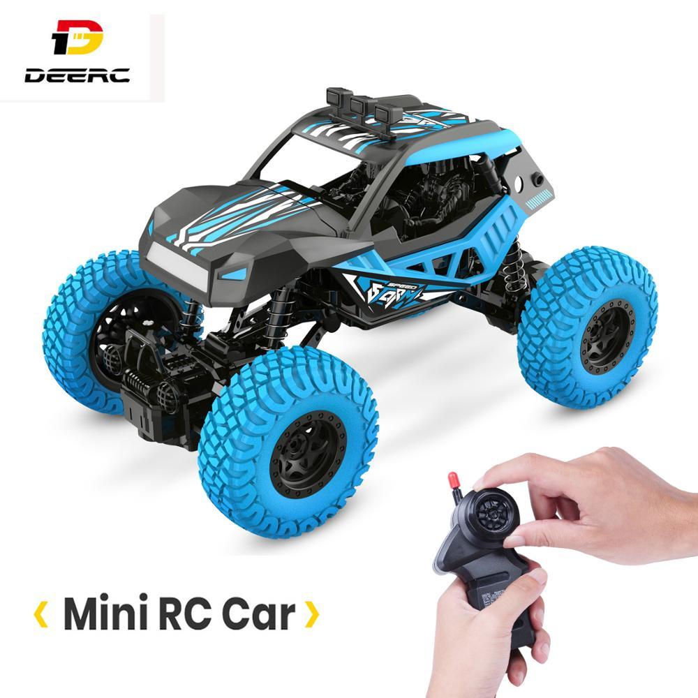 DEERC DE32 RC Car Offroad Trucks 2.4G Radio Remote Control Car RC Rock Crawler Car Racing Monster Truck For Children Adults Kids