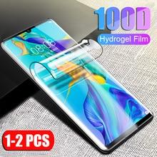 2 PCS screen protector für huawei P30 pro lite Gehärtetem glas für huawei P 30 pro lite p30 p30pro P30lite p30 Hydrogel weichen film