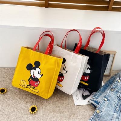 Bolso de hombro con dibujo de Minnie mouse de Disney, para mujer