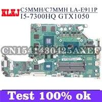 klkj c5mmhc7mmh la e911p laptop motherboard for acer an515 51g a715 71g original mainboard i5 7300h gtx1050