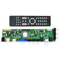 Vilaxh DS.D3663LUA.A81 TV Controller Driver Board DVB-T2 DVB-T DVB-C digital TV LCD/LED driver board 15-32 inch