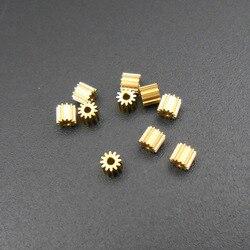 10 pces 0.2 m 12 t bronze engrenagem 0.2 módulo t = 12 abertura 1mm encaixe apertado 12 dentes diâmetro do metal. Engrenagens do dente de 2.8mm 2.45mm x 2.8mm * kc001
