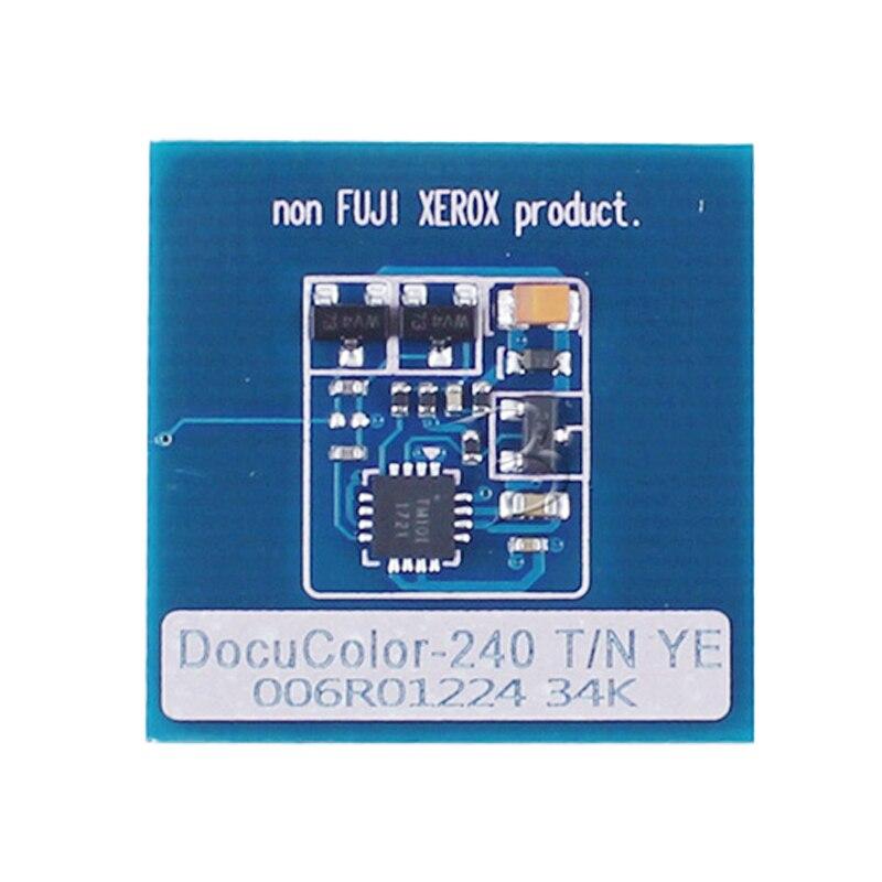 006R01219 006R01449 chip de Toner para XEROX DocuColor 240 242 250 252 260 WorkCentre 7655 7665 7675 7755 7765 7775 006R90362