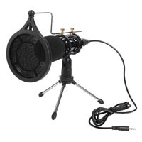 recording condenser microphone mobile phone microphone 3 5mm jack professional microfone for computer pc karaoke mic