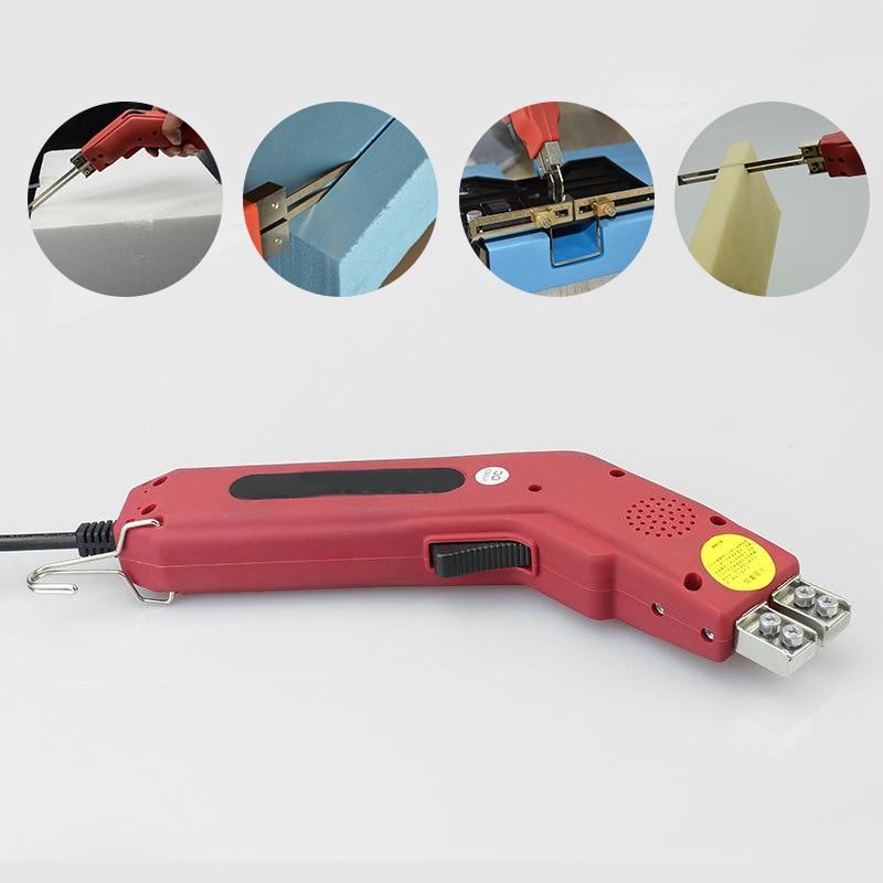 250 واط باليد الكهربائية الساخن سكين الستايروفوم قاطع الفوم أداة مع شفرة المحمولة المهنية قاطع الفوم أدوات قطع سكين