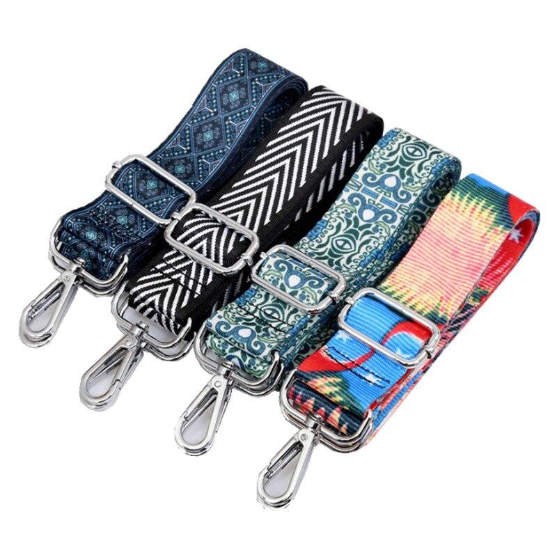 7 видов ремешков для женских сумок, съемные ремешки на плечо для самостоятельной сборки, аксессуары для женских сумок через плечо, нейлоновы...