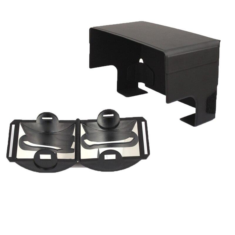 2in1 Signal antenne Booster gamme conseil + pare-soleil hotte Anti-éblouissement pour DJI mavic mini Pro 1 étincelle dair mavic 2 zoom pro drone