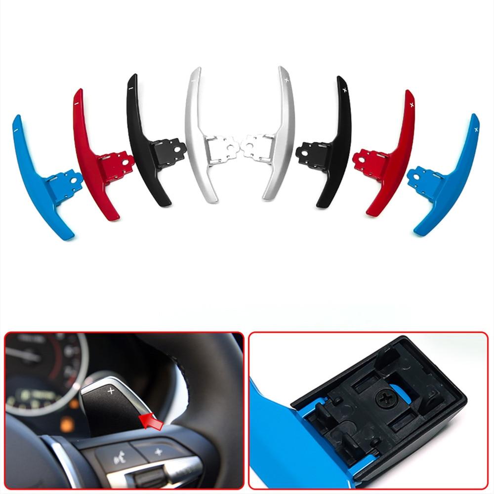 عجلة توجيه سيارة مجداف التحول الموسعة ل BMW F20 F22 F31 F34 F35 F30 F32 F18 F11 F07 F12 F02 F15 F16 F25