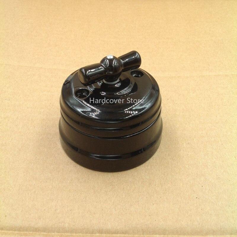 AliExpress - European Ceramic Knob Switch Outdoor Lighting High Frequency Ceramic Wall Light Switch