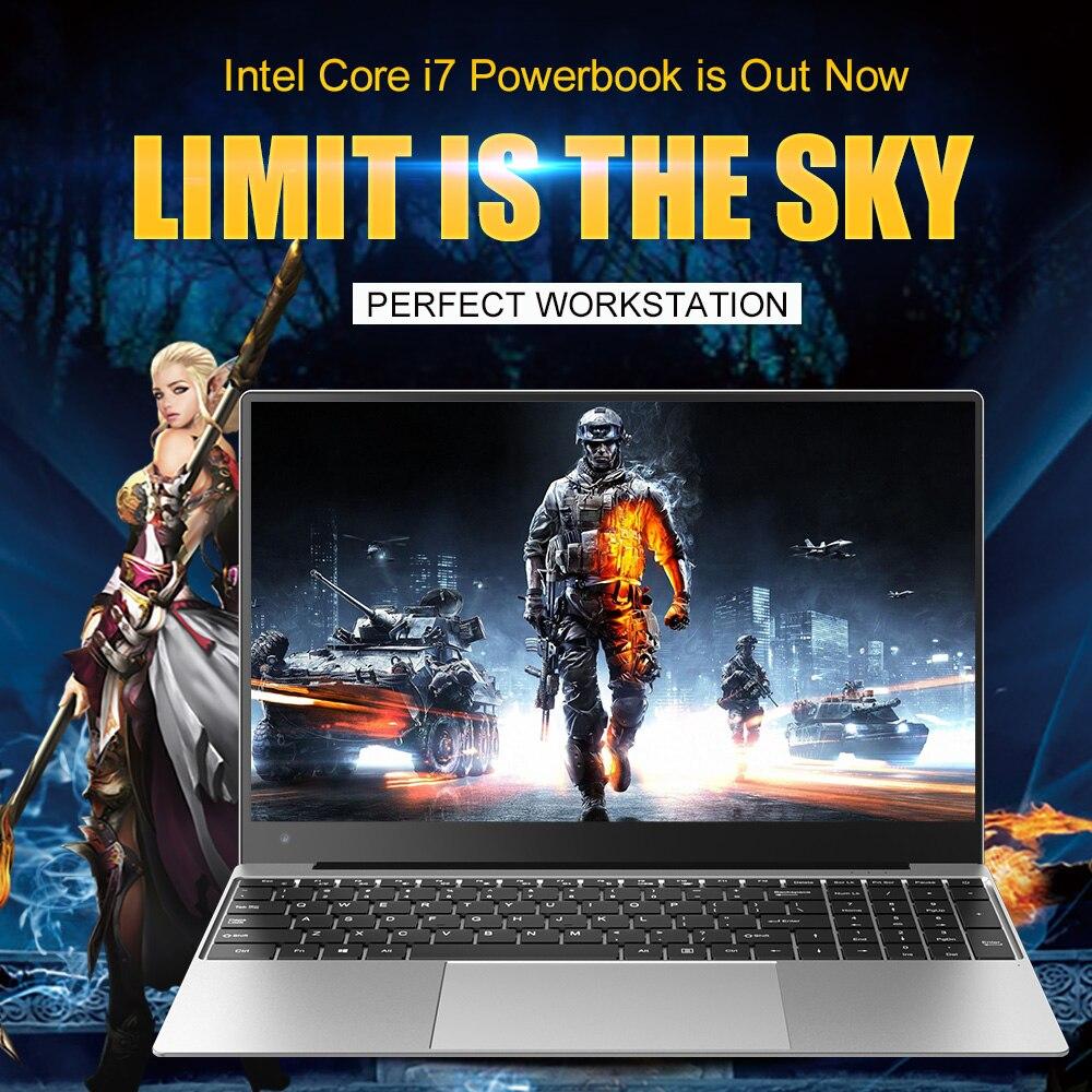 Get 15.6″ Laptop Core i7 16GB RAM SSD +1000GB HDD Intel Windows 10 Game Office Arabic Hebrew AZERTY Spanish Russian Keyboard Backlit