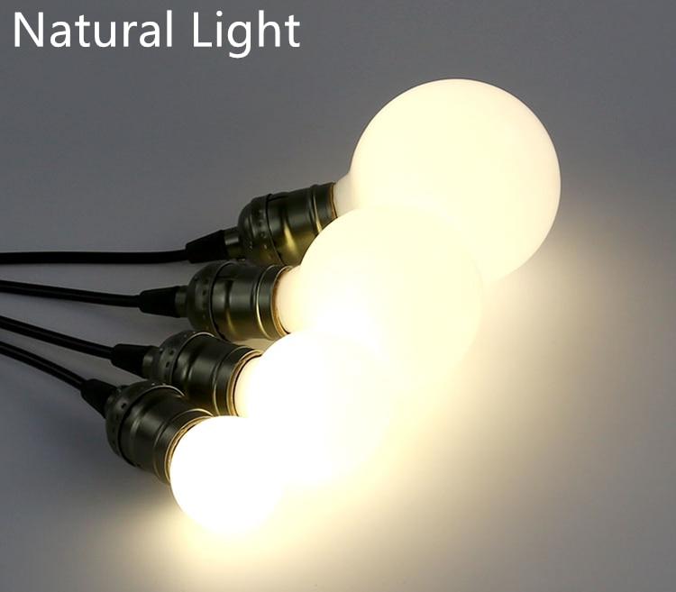 Bombillas LED de 3W de cristal, bombilla pequeña, lámpara de interiores, Bombilla decorativa de buena calidad, Bombilla E27