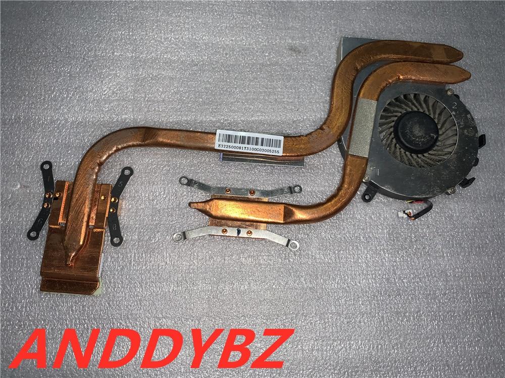 حقيقي E322500081Y31 PAAD06015SL ل MSI GL72 6QD MS-1796 CX72 GP72 مروحة و المبرد اختبار موافق و شحن مجاني