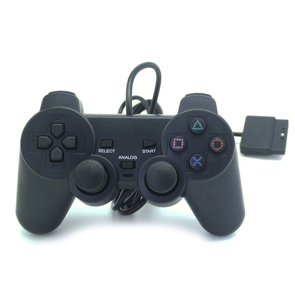200pcs Universal Wired Controller Joystick Gamepad for PlayStation2 PS2